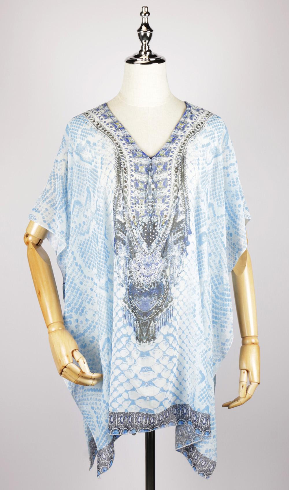 SKF1132 kaftan night dress
