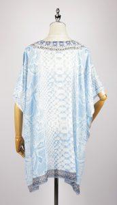 SKF1132 kaftan night dress back