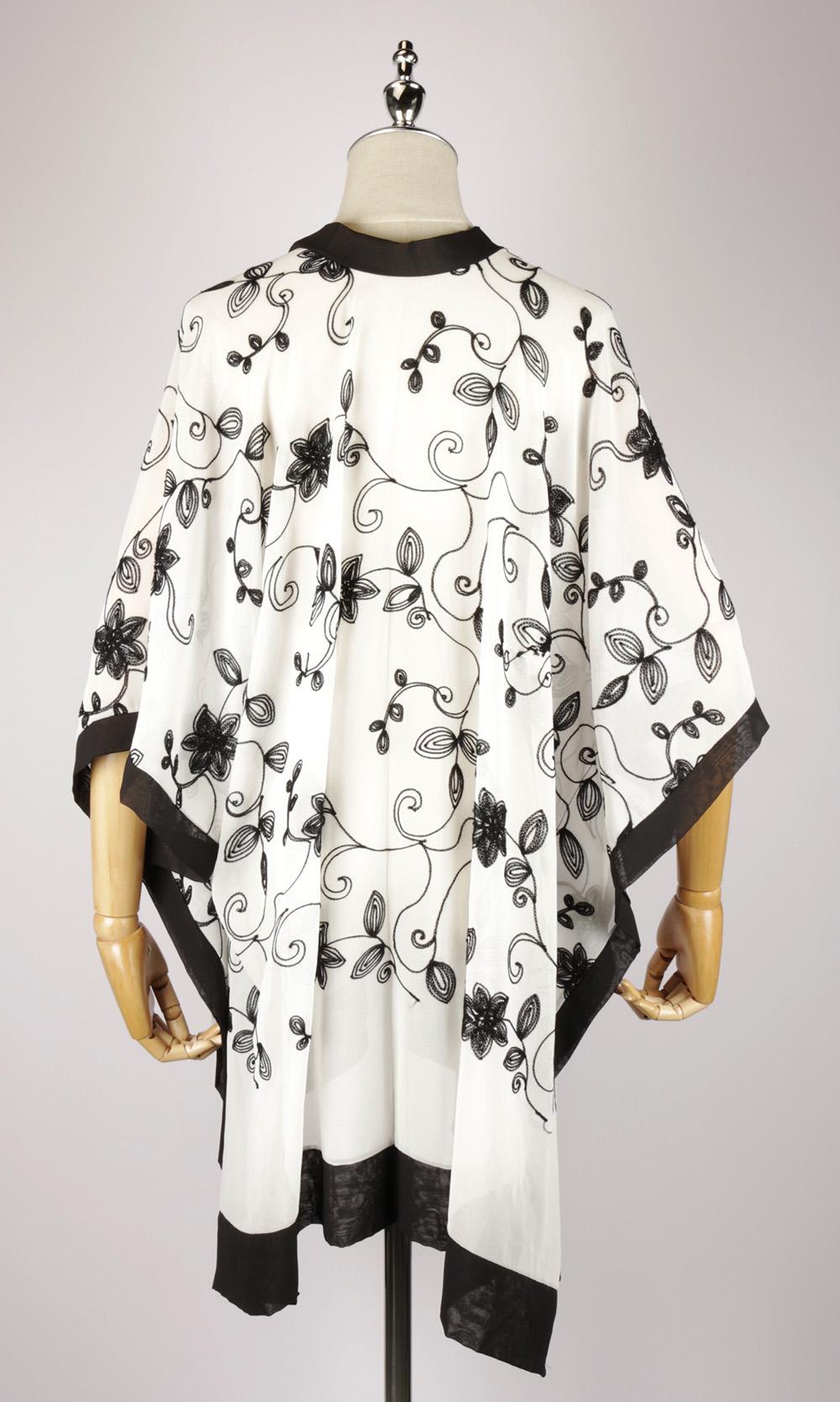 CEK1544 kaftan dress, caftan back