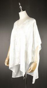 CEK1577 kimono styles white side