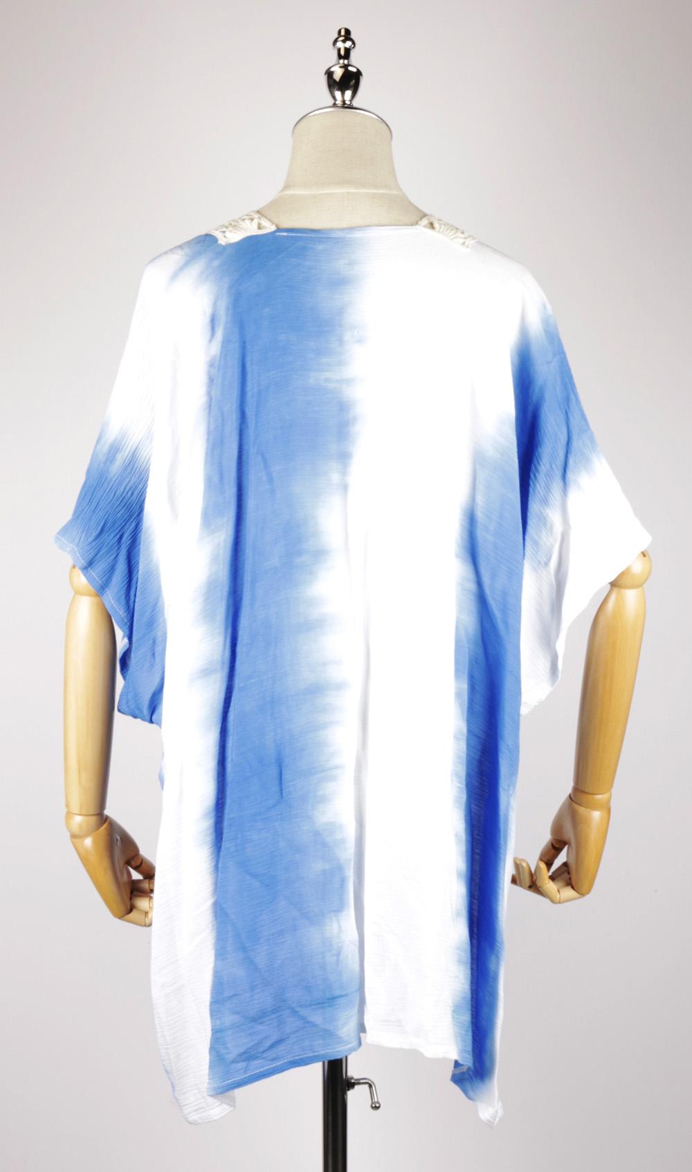 Tie-dye Kaftan back TDk1611