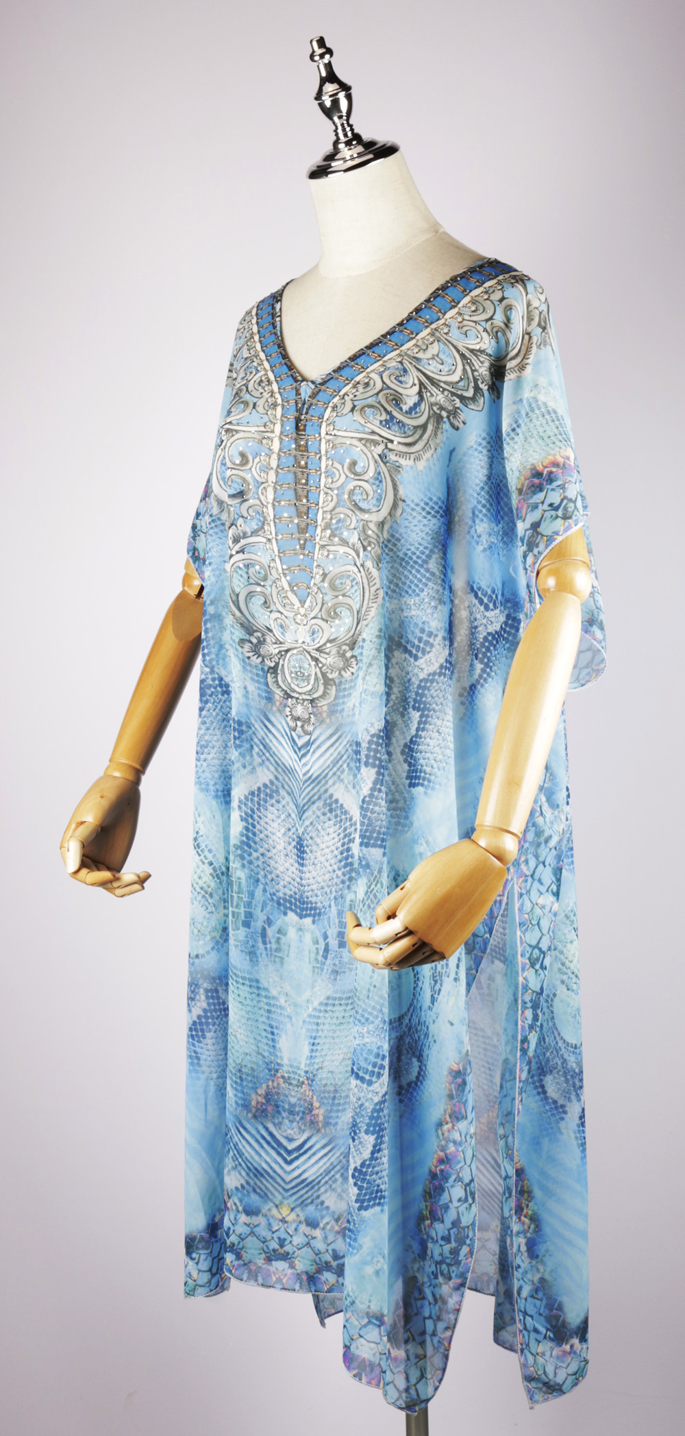 LKF2038 side, kaftans dresses