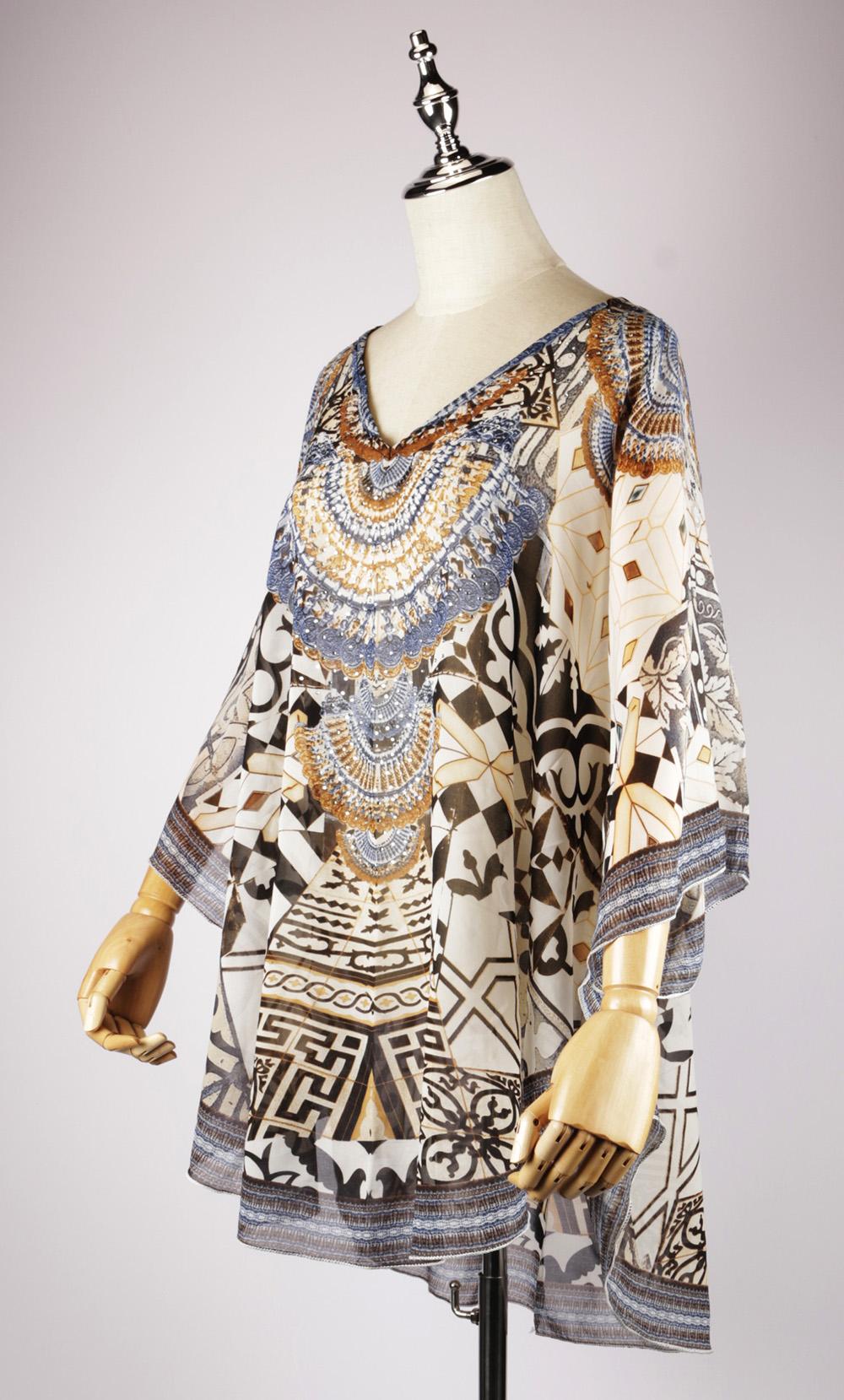 DSG2284 side,kaftan dress pattern