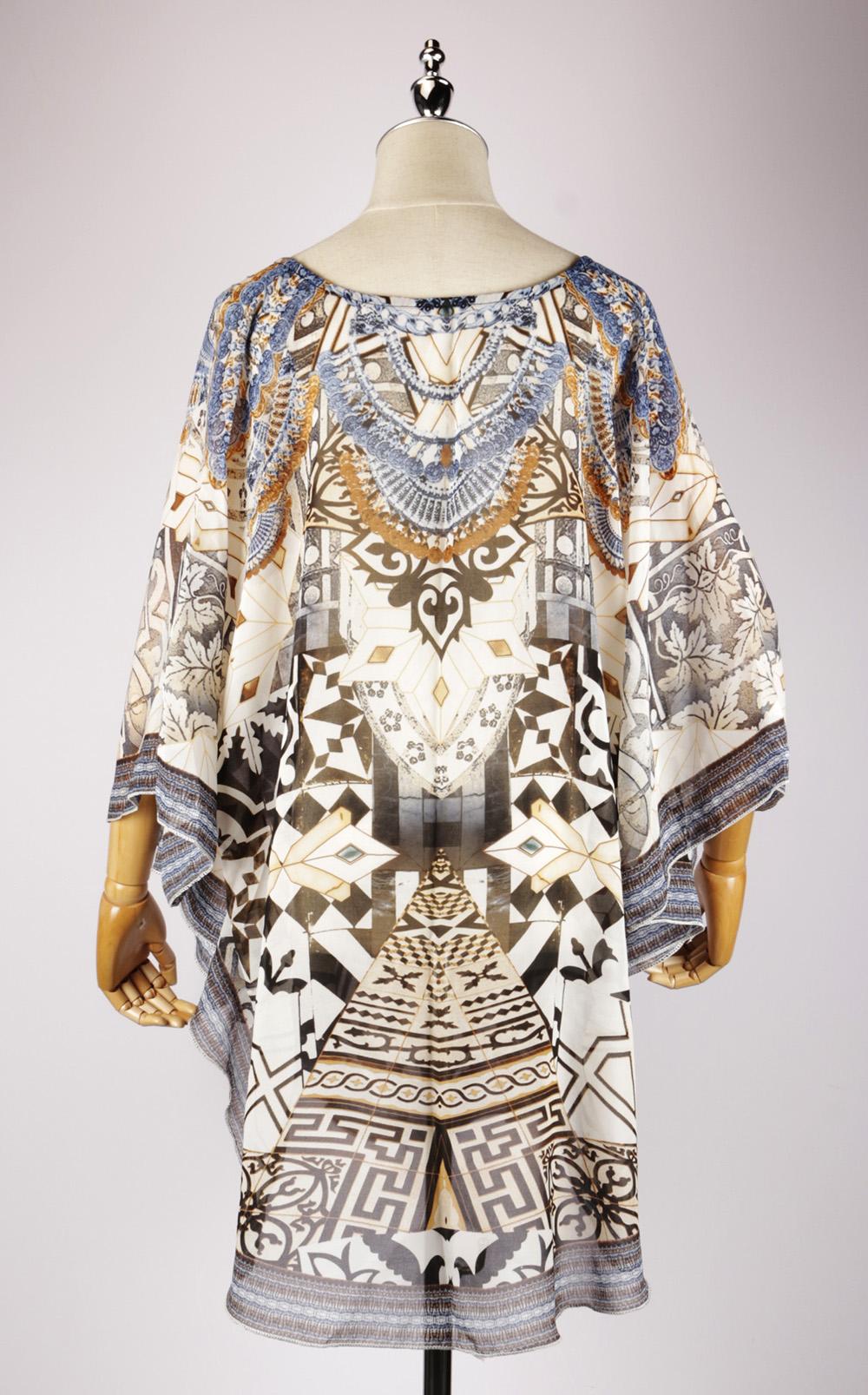 DSG2284 back,kaftan dress pattern