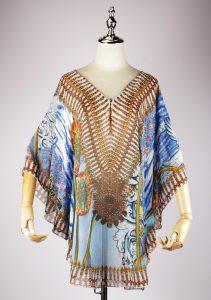 DSG2293 cotton kaftan dress