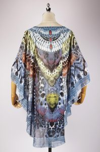 DGS2296 back,kaftan dress