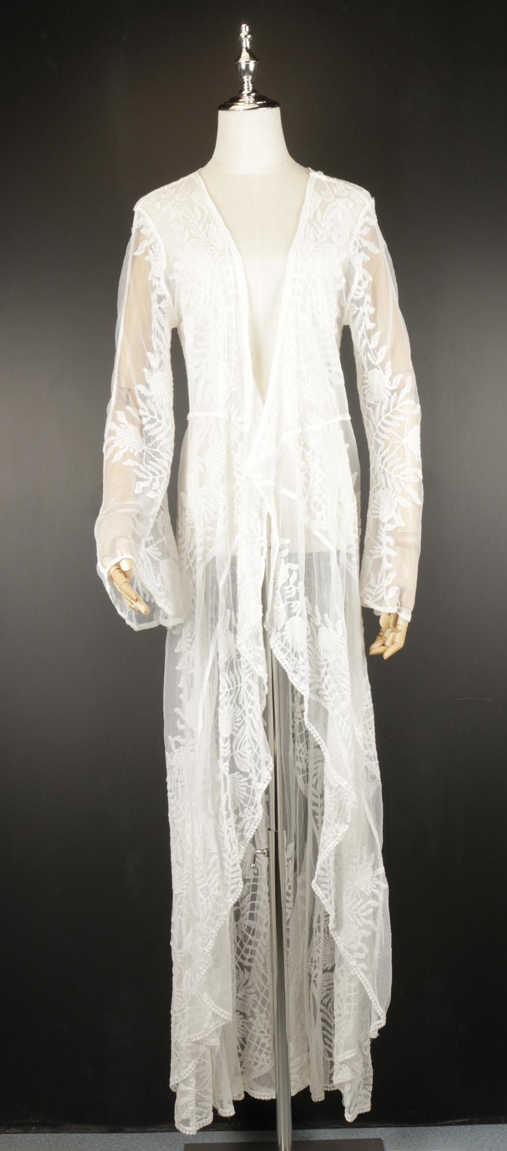 LOK0696 lace cardigan kimono