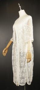 LLC0708 embroidery chiffon outfit side