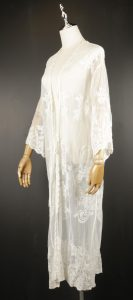 LLC0711 lace front open cardigan outfit side