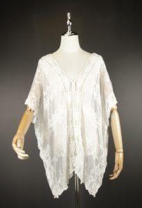LSK0799 lace pullover kimono