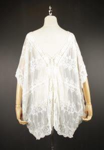 LSK0799 lace pullover kimono back