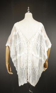LSK0812 Lace pullover Kimono back