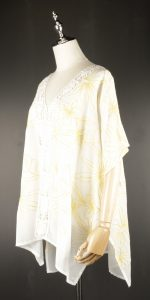 CEK1605 Chiffon Embroidery side