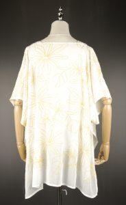 CEK1605 Chiffon Embroidery back
