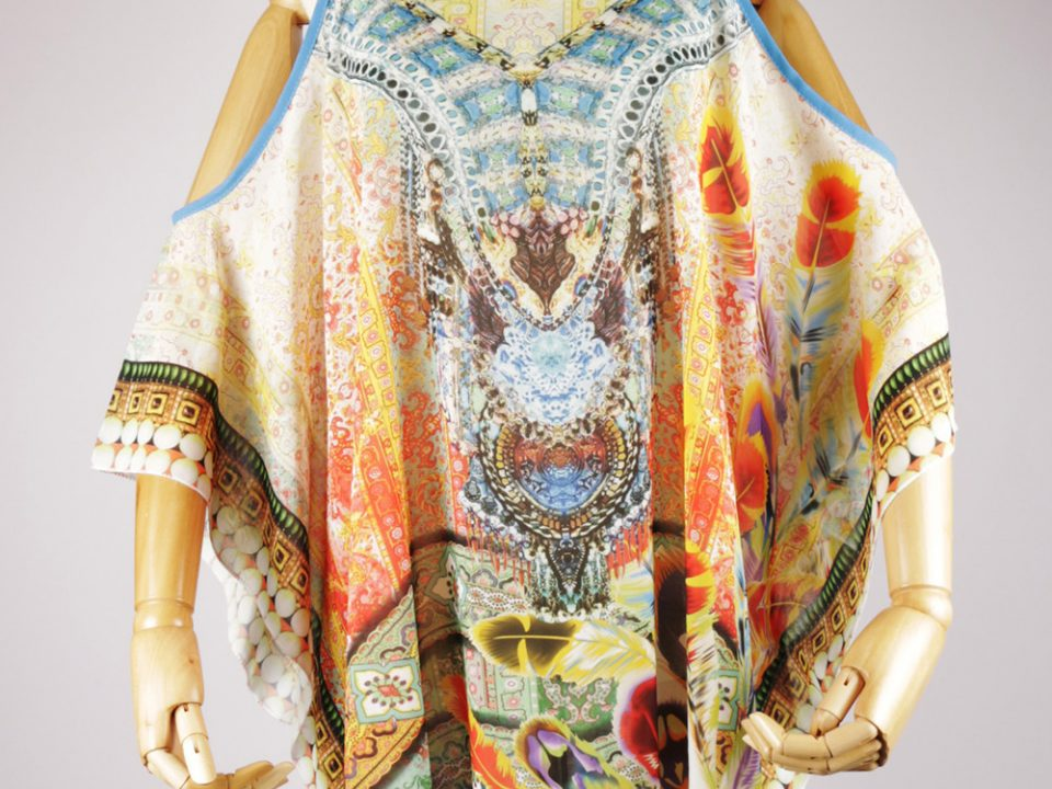 BS2090 short sleeve kaftan