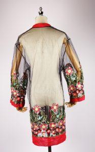 LEK2135 embroidered kimonos back
