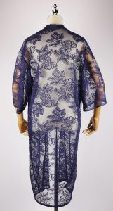LEK2144 Lace Embroidery Kimono back