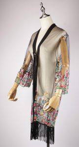 LEK2317 embroidered kimono side
