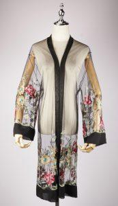 LEK2326 embroidered kimono
