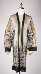 LEK2329 embroidery kimono