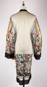 LEK2329 embroidery kimono back